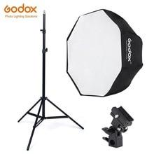 Godox 80cm אוקטגון אמברלה Softbox אור מטריות חמה נעל סוגר ערכת Strobe סטודיו פלאש מבזק צילום