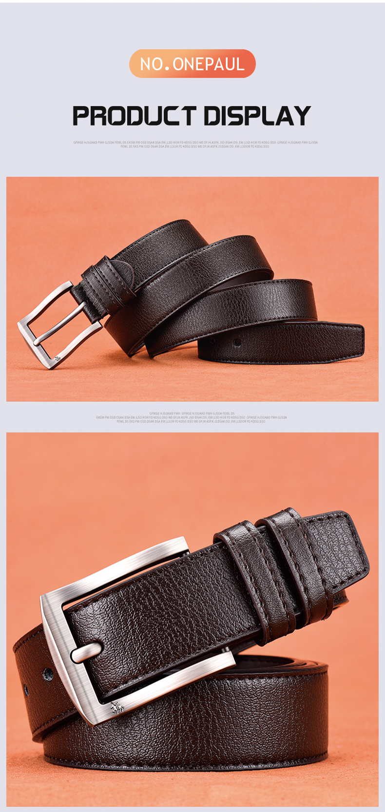 H84fa3b30be5345e096d1ed1582878da9m - NO.ONEPAUL cow genuine leather luxury strap male belts for men new fashion classice vintage pin buckle men belt High Quality