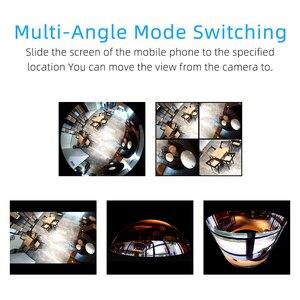 Image 5 - 2.0 1.0 mp ledパノラマ魚眼レンズhd 1080p ipカメラwifi電球ランプホームセキュリティcctvカメラナイトビジョンカメラ