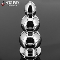 933 Anal plug butt plug gay sex toys for men eroticos sex shop after high quality solid aluminum G spot Chambers comrades toys