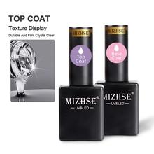 Base-Coat Rubber MIZHSE Matte Top Uv-Gel-Lacquer Glitter-Color Varnis Multifunctional