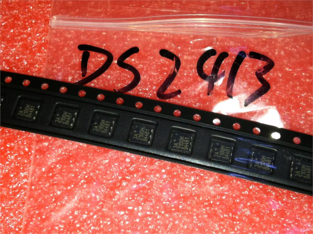 20pcs/lot DS2413P+ DS2413 (3A 2100H) 1-Wire Dual Channel Addressable Switch TSOC-6pin SOJ6 In Stock