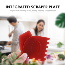 Scrapers-Cleaner-Tool Grill Bbq-Cleaning Cookware Serrated-Edge Plastic Kitchen 2pcs