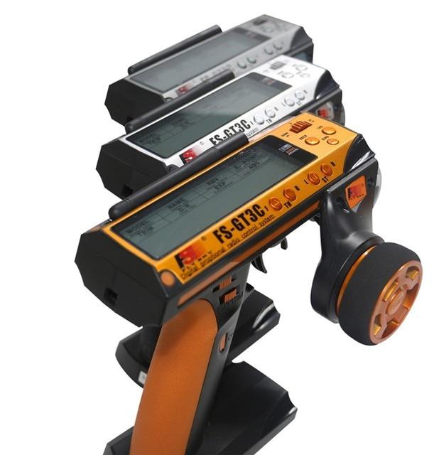 $54.99 Flysky FS-GT3C FS GT3C 2.4G 3CH RC CAR System /w battery GR3E Receiver Radio Controller