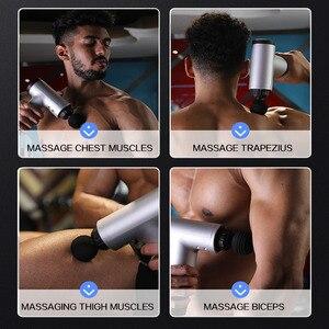 Image 4 - כדאי חדר כושר כושר Fascia אקדח גוף הרפיה עיסוי מכונה אימון שרירים להירגע משולב ציוד עבור גברים נשים