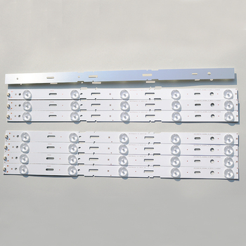 New Kit 8 PCS 5LED 428mm LED Backlight strip for TV 40VLE6520BL SAMSUNG_2013ARC40_3228N1 40-LB-M520 40VLE4421BF 1