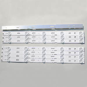 Image 5 - جديد كيت 8 قطعة 5LED 428 مللي متر LED شريط إضاءة خلفي للتلفزيون 40VLE6520BL SAMSUNG_2013ARC40_3228N1 40 LB M520 40VLE4421BF