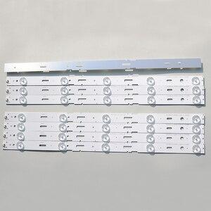 Image 5 - New Kit 8 PCS 5LED 428mm LED Backlight strip for TV 40VLE6520BL SAMSUNG_2013ARC40_3228N1 40 LB M520 40VLE4421BF