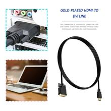 Адаптер видео кабель H-DMI мужчина к DVI Мужской к H-DMI для док-станции DVI кабель 1080p Высокое Разрешение ЖК-дисплей светодиодный мониторы
