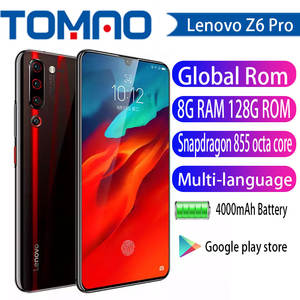 Lenovo Snapdragon 855 Z6 Pro Smartphone 8GB 128GB LTE/CDMA/GSM/WCDMA Adaptive Fast Charge