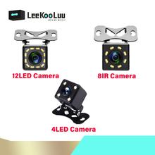 LeeKooLuu kamera cofania HD samochodowa kamera tylna szeroki kąt widzenia kamera samochodowa kamera cofania pomoc wsteczna kamera cofania tanie tanio Z tworzywa sztucznego Plastikowe + Szkło Drut ACCESSORIES Tył