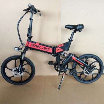 (7-speed) M3 20 Inch Foldable E Bike Mountain Electric Bicycle Sport 48V 350W for Adult 2