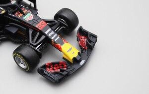 Image 4 - Bburago 1/43 1:43 2018 RB14 Red Bull Verstappen No33 F1 Formula 1 Racing Car Diecast Display Model Toy For Kids Boys Girls