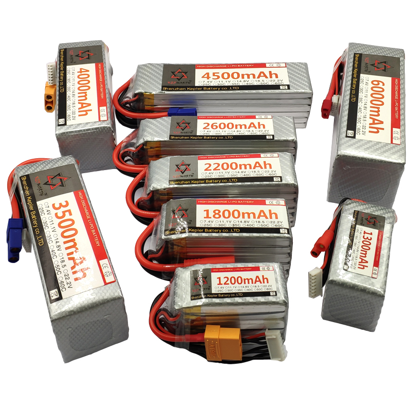 RC LiPo <font><b>Battery</b></font> 5S 18.5V 2200 2600 3500 4200 5200 6000 10000 12000 <font><b>16000mAh</b></font> 25C35C60C <font><b>Batteries</b></font> For RC Airplane Drone Helicopter image