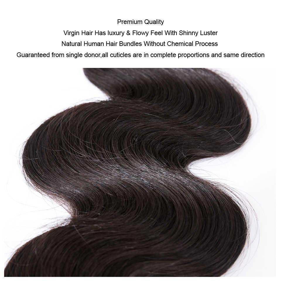 """Mokka Haar 10A Brasilianische Reines Haar Körper Welle 4 Bundles Natürliche Farbe 10 """"-24"""" 100% Menschliches Haar weben 10 """"bis 28"""" Freies Verschiffen"""