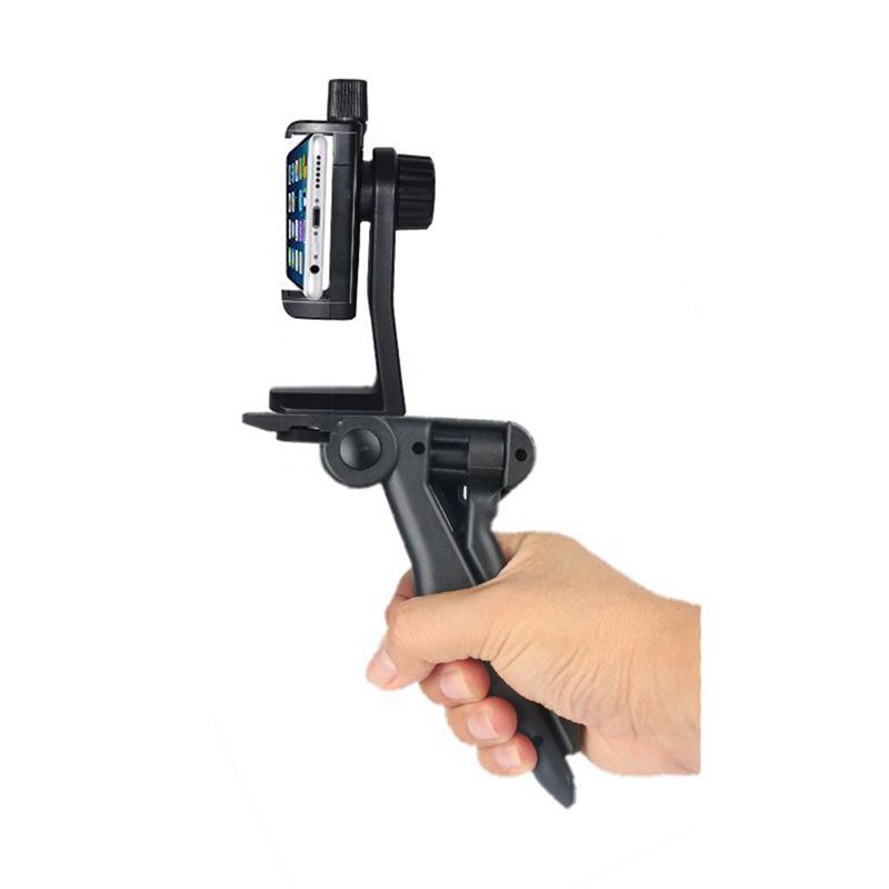 2 in 1 <font><b>Mini</b></font> <font><b>Phone</b></font> <font><b>Tripod</b></font> & Selfie Stick Portable and Adjustable Camera Stand Holder with Bluetooth <font><b>Remote</b></font> and Universal Clip <font><b>for</b></font> image