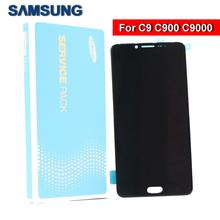 100% original Super AMOLED C9 LCD screen for SAMSUNG Galaxy Pro C9000 touch digitizer components