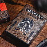 Seekers Playing Cards 88*63mm Paper Magic Category Poker Cards for Professional Magician