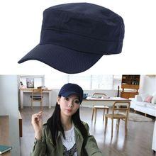 Women Men Flat Top Cap Breathable Adjustable Sunshade Portable Hat Headwear Outdoor Sportswear Accessories
