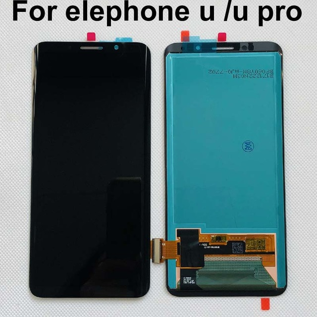 Amoled 100% Original Tested For elephone u /u pro lcd display and touch screen assembly repair parts for elephone u upro E9002