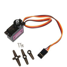 1 Pc MG90S Micro Metal Gear 9G Servo Voor Rc Vliegtuig Helicopter Boot Auto 4.8 V-6 V rotatie 360 MG90S Miniatuur Servo Motor(China)