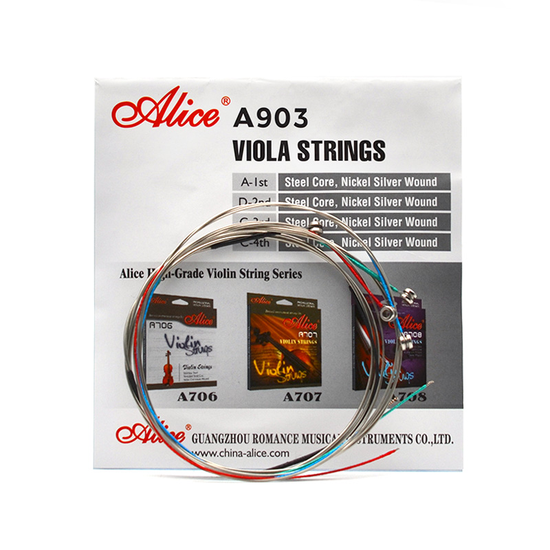 Алиса а903 Никель Серебро, на рану струны альт 1st-4th набор из 4 струн