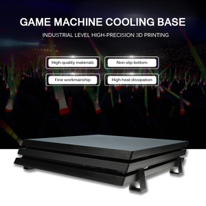 Image 2 - Horizontal Version Bracket For Playstation 4 For PS4 For Slim For Pro Game Machine Cooling Base Flat Mounted Bracket Accessories