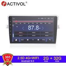 4g wifi 2g 32g android 9.0 2 din rádio do carro para toyota avensis verso ez z 2010 2015 autoradio áudio do carro estéreo do carro