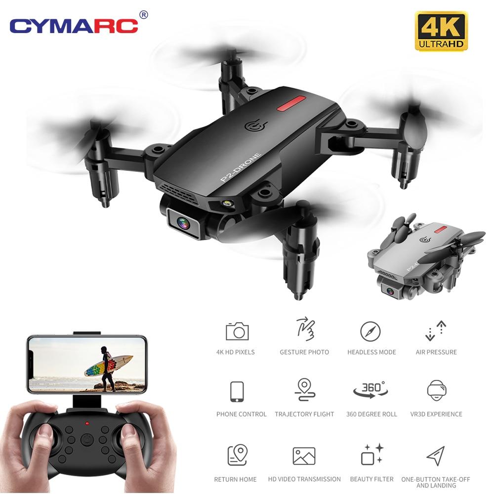 P2 Mini Drone Wifi FPV 1080P 4K HD Dual Camera Gravity Sensor Altitude Hold Follow Me Foldable Quadcopter RC Drone VS S66 M73|RC Quadcopter| - AliExpress