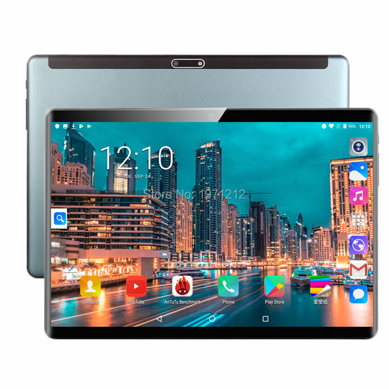 Free Shipping Android 9.0 10 Inch Tablet Pc 8 Core 6GB RAM 128GB ROM 1920*1200 IPS Kids Gift MID Tablets 10.1 10