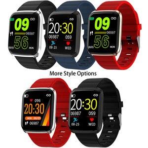 Image 5 - Reloj inteligente IP67 para Android IOS, reloj inteligente deportivo resistente al agua con control del ritmo cardíaco y del oxígeno para hombre y mujer