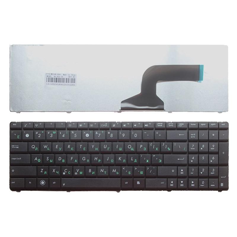 Russian Keyboard FOR ASUS K54 K54C K54D K54H K54L K54LY K54S K54SL K54HR K54HY X54C X54L X54LY N53TK Black RU Laptop Keyboard
