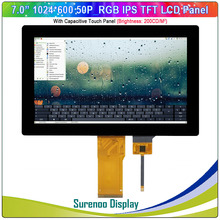 "7 "" / 7.0"" pollici 1024*600 50P_RGB IPS TFT Modulo LCD Screen Display Monitor & FT5426 I2C pannello di Tocco capacitivo"
