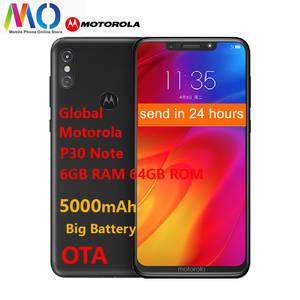 Motorola Snapdragon 636 P30 Note 64GB 6GB Supercharge Octa Core Fingerprint Recognition