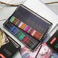 CHENYU 12/24/36/48/72 crayons aquarelle prime doux noyau lapis de cor crayon de couleur Soluble professionnel pour fournitures d'école d'art
