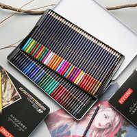 CHENYU 12/24/36/48/72 lápices de acuarela Premium suave Core lapislázuli de CDR profesional color soluble lápiz para la Escuela de Arte de suministrar