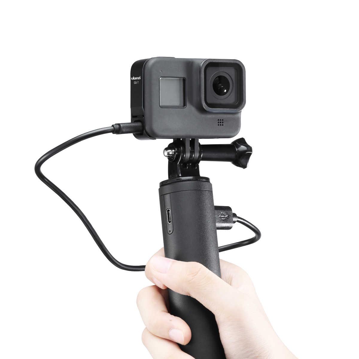 سبائك الألومنيوم تحميلها غطاء البطارية ل Gopro بطل 8 الأسود غطاء البطارية حالة البطارية الباب تهمة ميناء الرياضة ملحقات الكاميرا