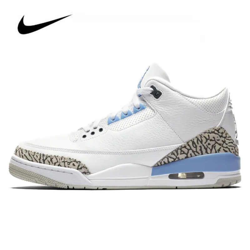 Nike Air Jordan Retro 3 Valor Azul hombres Jordan baloncesto zapatos de  alta calidad de los hombres Jordan zapatos baloncesto zapato botas de ...