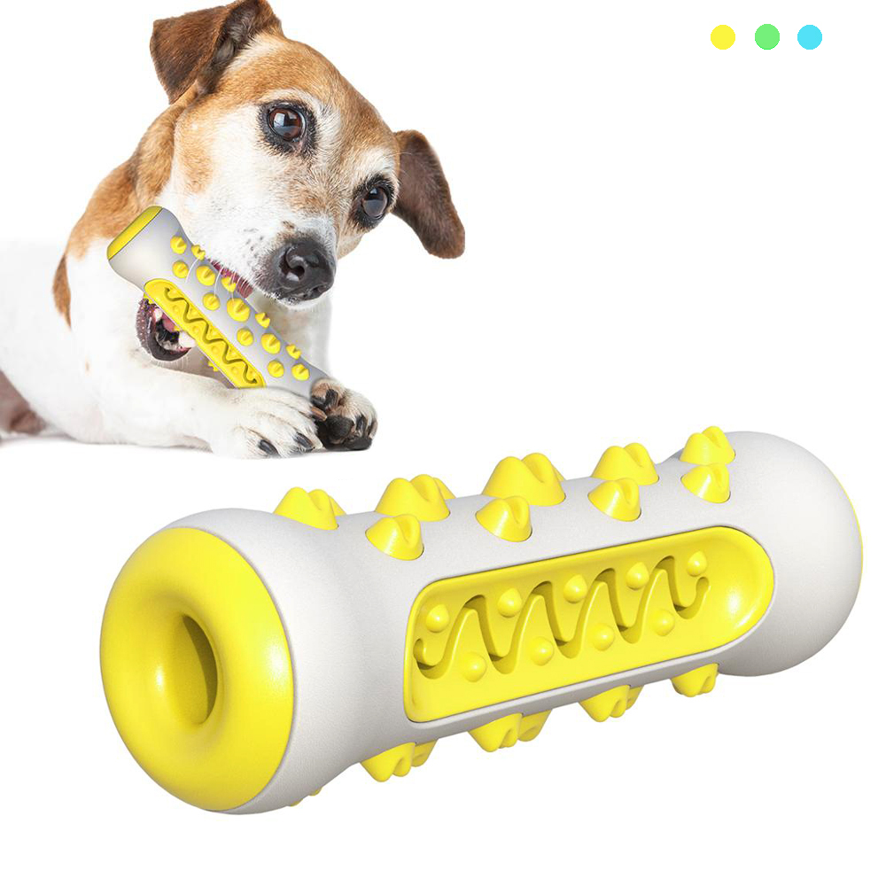 Pet Dog Chew Toy Molar Toothbrush Dog Toys Chew Cleaning Teeth Safe Elasticity Soft TPR Puppy Dental Care Extra-tough Pet Toy