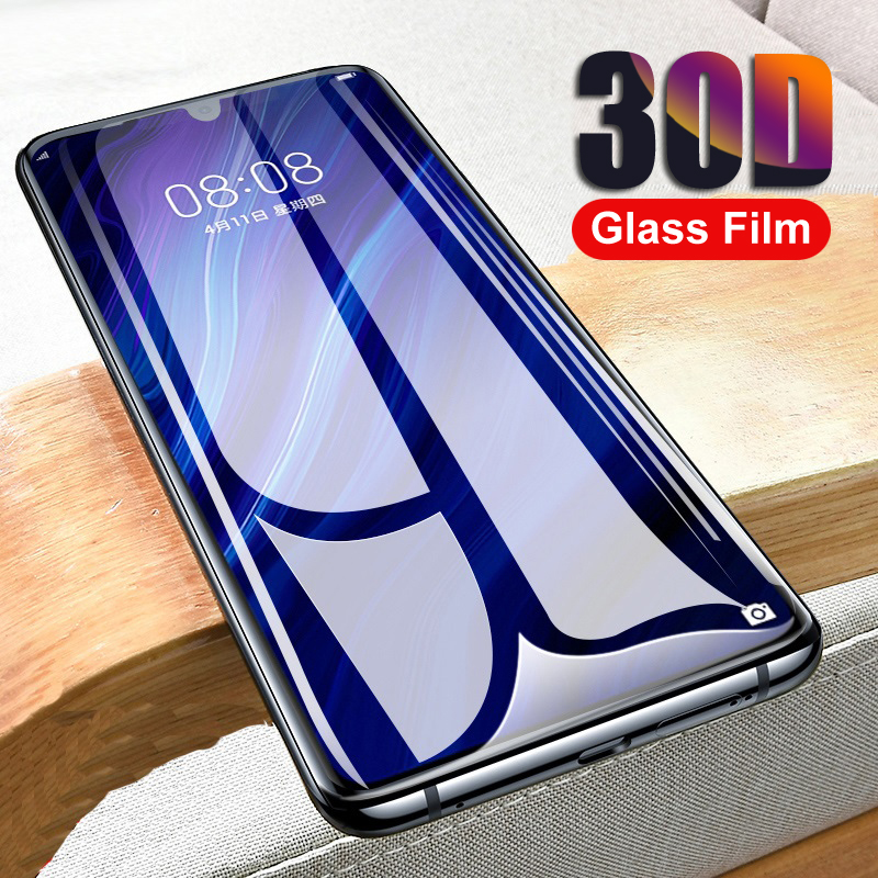 30D Protective Glass On For Huawei P30 Lite P20 Pro P10 Plus Glass Screen Protector For Huawei Nova 3 3e 3i Tempered Glass Film