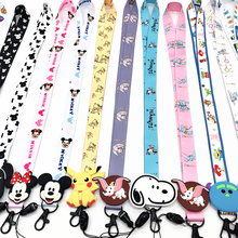 Lanyard Anime Cute Cartoon Neck Strap Lanyards for keys ID Card Gym Mobile Phone Straps USB badge holder DIY Hang Rope Lariat dmlsky kiki s delivery service lanyard keychain anime lanyards for keys badge id mobile phone rope neck straps gifts m3865