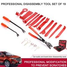 트림 제거 도구 키트 자동차 오디오 라디오 리무버 도구 lastics 철거 설치 Pry Tool Kit 스크루 드라이버 키 플라이어 리무버