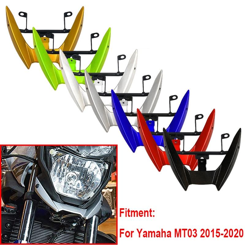 2020 MT03 Передняя капота для мотоцикла, верхняя фара, обтекатель, держатель для Yamaha MT-03 MT 03 2015 2016 17 18 19 2020, аксессуары