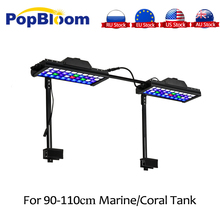 PopBloom lamp led aquarium fish tank lamp Reef LED light Programmable coral SPS LPS aquarium sea reef tank Turing30 cree xpe plant growth lamp customize color 12x3w cree xpe led par38 coral reef grow lamp fish tank aquarium lamp free shipping
