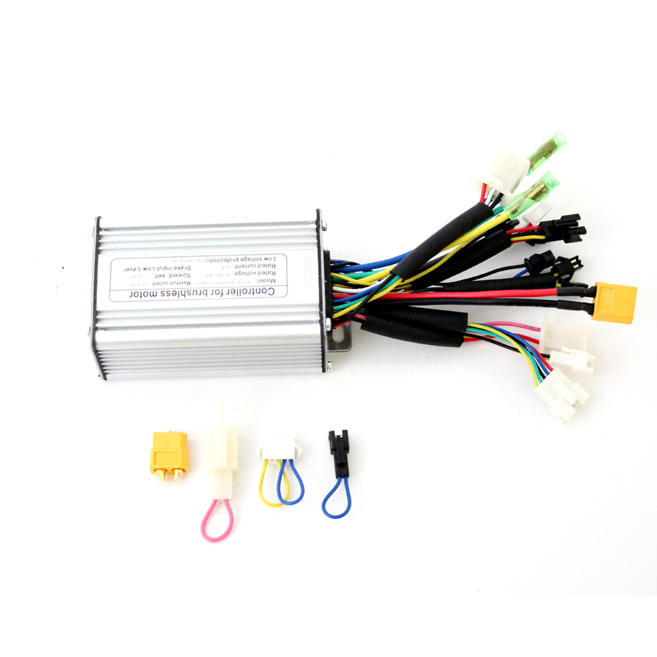 24V 20A Controller For 250W 350W Brushless Motor Conversion Electric Bicycle
