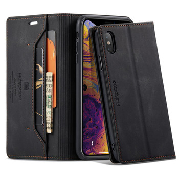 Luxury Leather Cover For iPhone XS Max Case Flip Wallet Magnetic Phone Case iPhone XR Case iPhone X 6 6s 7 8 Plus 11 12 Pro Case 1