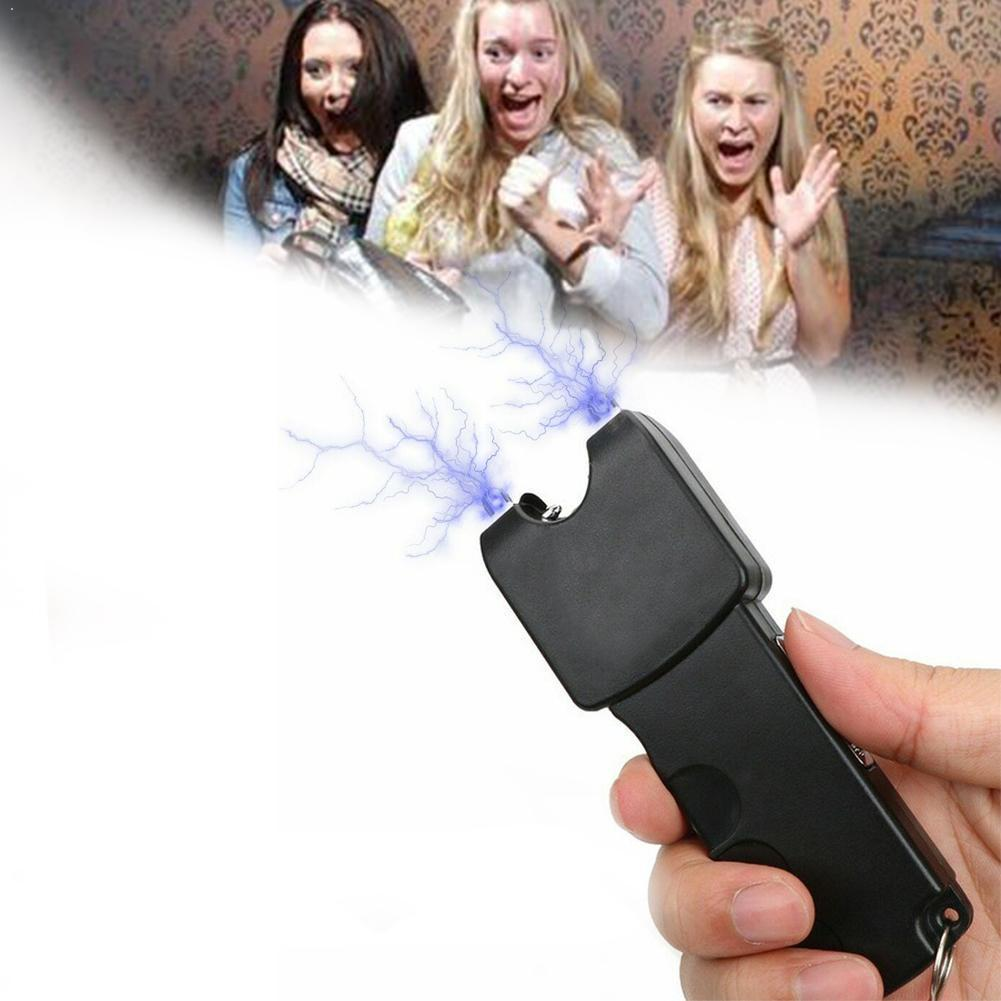 Hot Sell Electric Shock Stick People Funny April Fool's Toy The Flashlight Person Electric Toys Whole Day Tricky V5G9