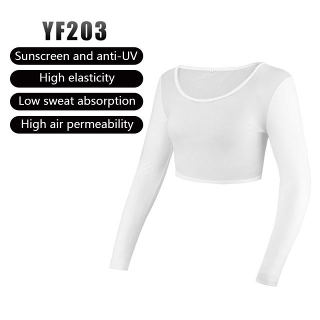PGM Womens Anti-UV Shirts Half-length Long Sleeve Summer Sunscreen Golf Bingsi Underwear Outdoor Sports Apparel MJ 2