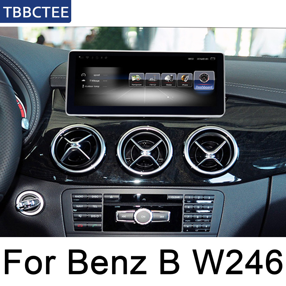 For Mercedes Benz B W246 CLA Class 2012 2014 Android Car radio Multimedia Video Player auto Stereo GPS MAP Media Navi WIFI HD in Car Multimedia Player from Automobiles Motorcycles