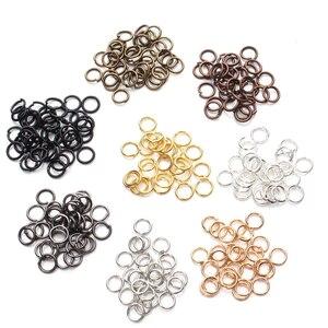 200 unids/set anillos de apertura de adorno de joyería